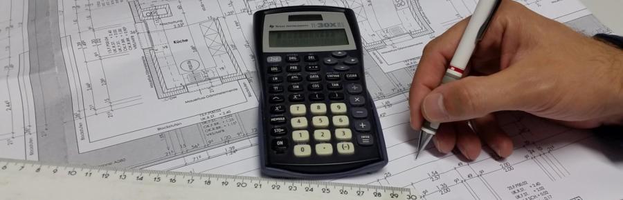 Bauleitung - Kostenermittlung