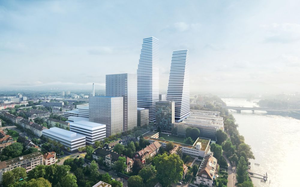 Neues Roche-Forschungszentrum, Basel