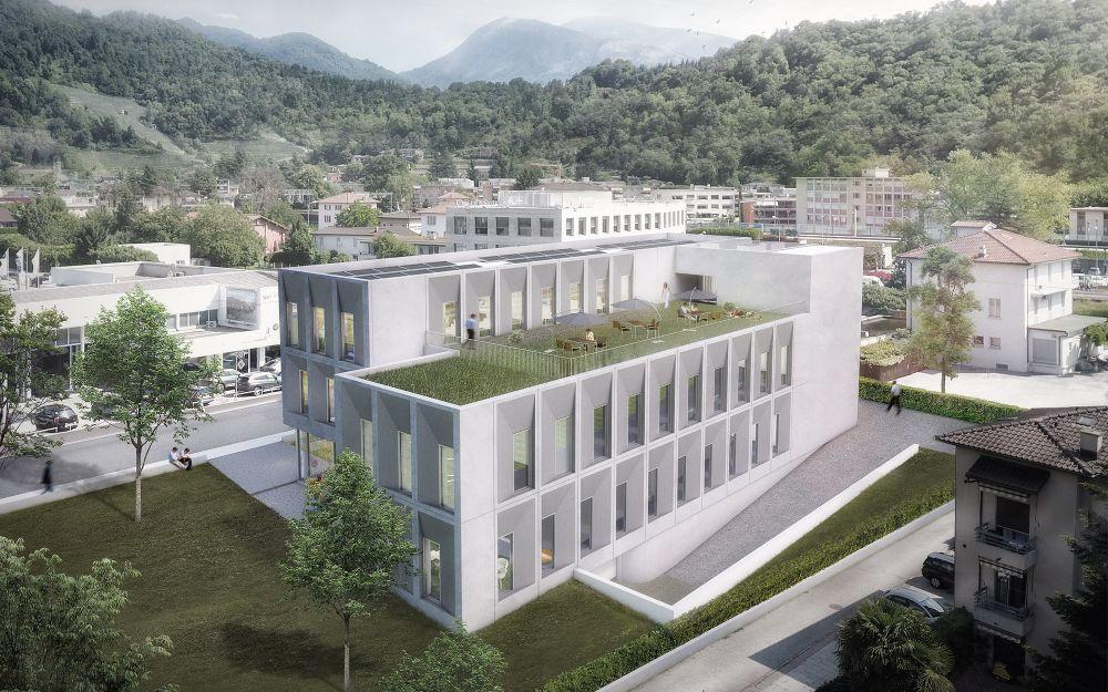 Ausstellungs- und Verwaltungszentrum, Lamone TI
