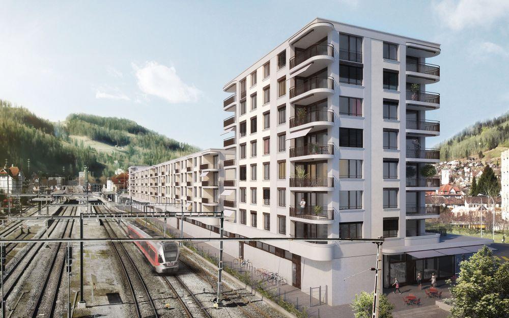 Neubau Bahnhof Süd, Wattwil SG