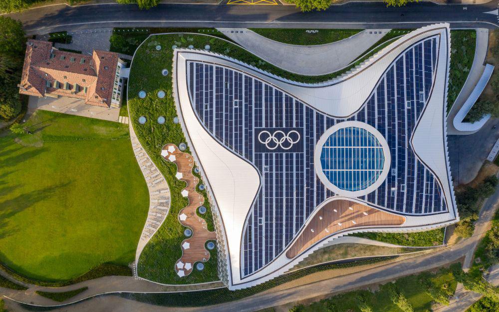 Hauptsitz des Internationalen olympischen Komitees IOC - Lausanne