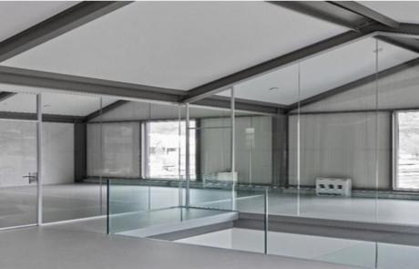 Geländer und Brüstungen aus Glas