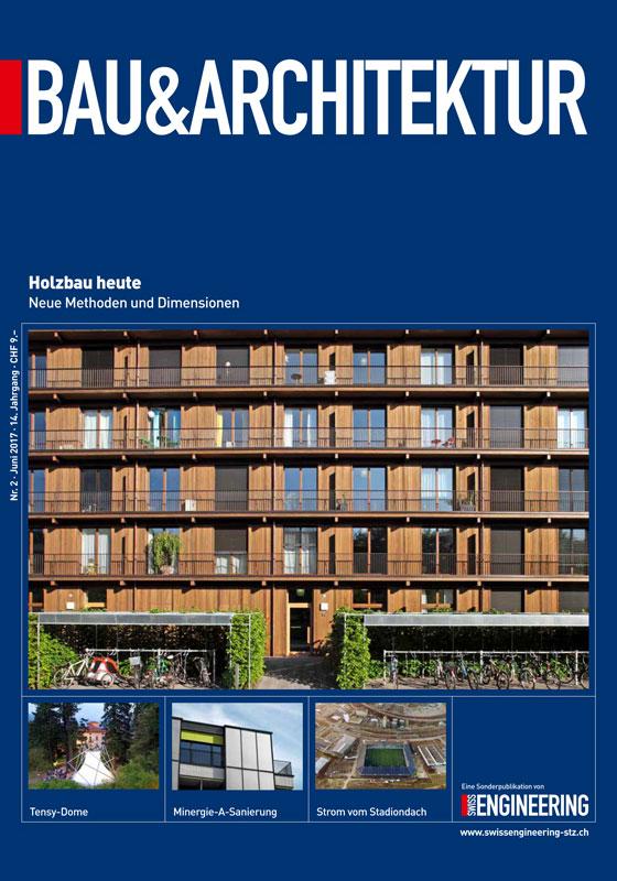 Fachzeitschrift Bau & Architektur