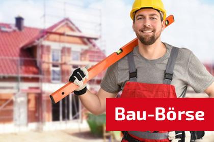 Bau-Börse von Bau Info Service das Portal für Bauen + Wohnen