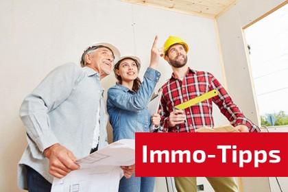 Immobilien-Tipps auf bauschweiz.ch das Portal für Bauen + Wohnen