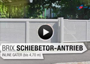 Brix Schiebetor-Antrieb Inline-Gater
