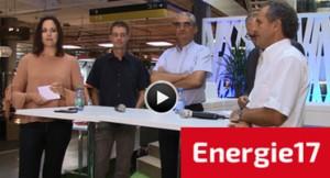 """""""Energiezukunft Schweiz"""" Talkshow mit Tanja Gutmann und Branchenexperte"""
