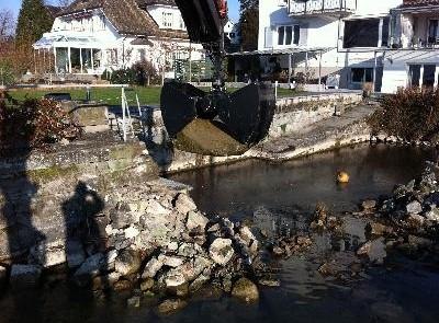 Taucherarbeiten Wasserarbeiten