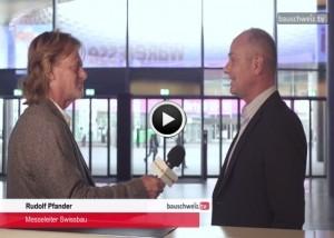 Sondersendung Oktober - Swissbau 2018 Vorschau