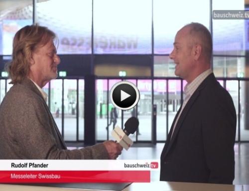 Sondersendung Oktober – Swissbau 2018 Vorschau
