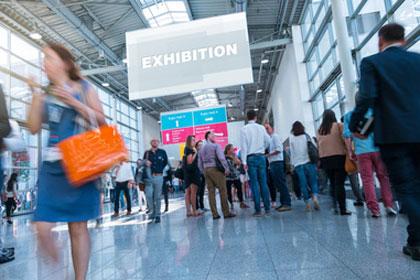 Ausstellungen, Messen + Fachveranstaltungen