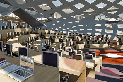 Neues Bundeshaus zeigt digitales Bauen