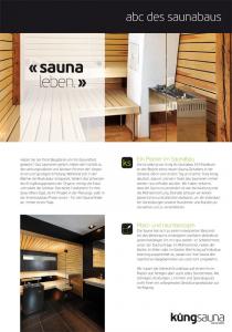 ABC des Saunabaus