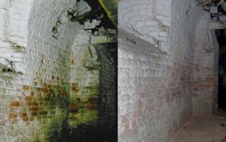 Drymat die moderne Wand-, Mauer- und Gebäudetrockenlegung