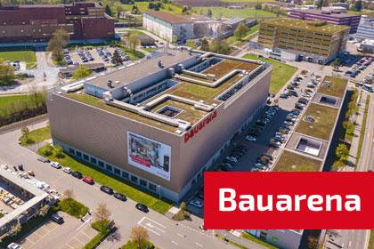 Bauarena in Volketswil auf bauschweiz.ch das Portal für Bauen + Wohnen