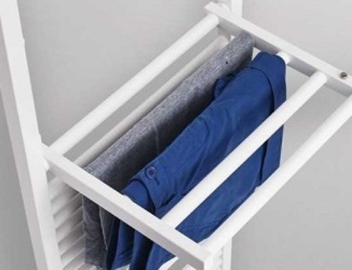 Beheizbarer Wäschehänger
