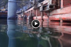 Taucherarbeiten und Wasserbau