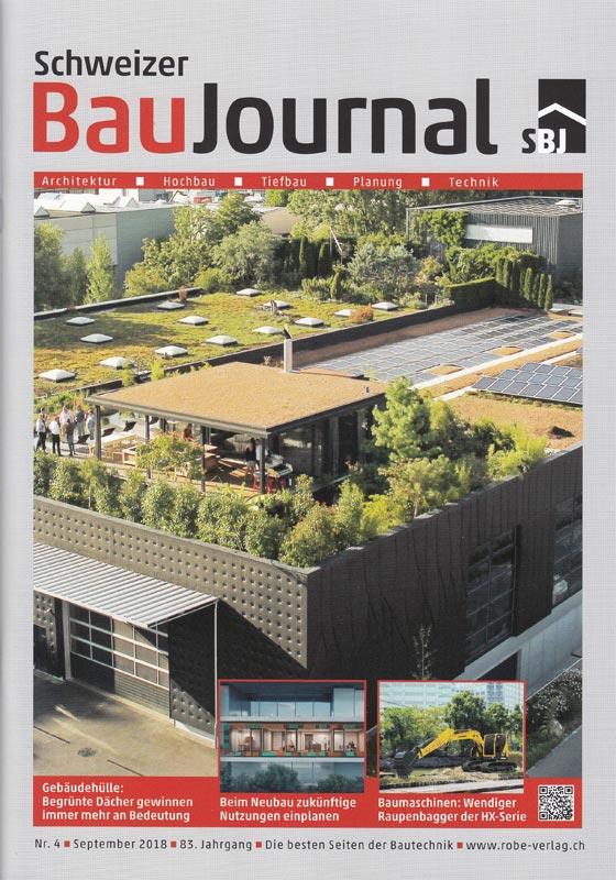 Fachmagazin Schweizer BauJournal