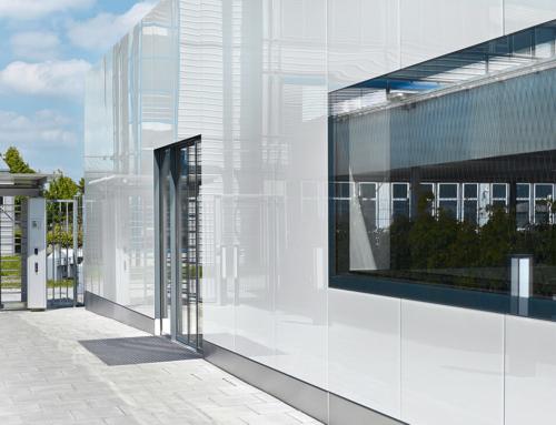 Bauelemente für Glasfassaden