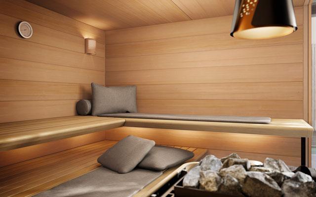 Supersoftes Extra für die Sauna
