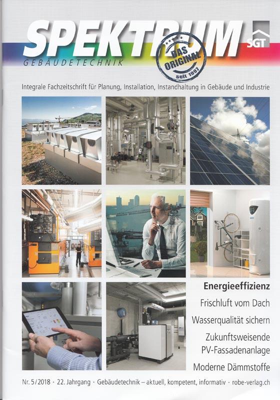Fachmagazin Spektrum Gebäudetechnik