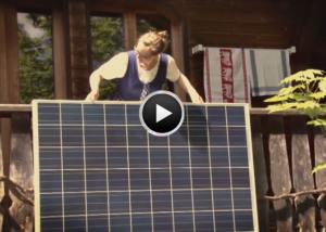 ADE!geranium - Dein Solarkraftwerk für den Balkon!