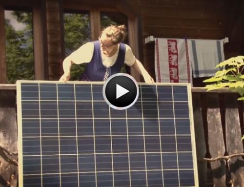 ADE!geranium – Dein Solarkraftwerk für den Balkon!