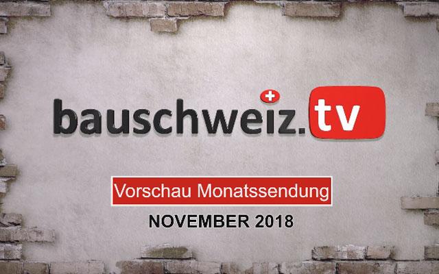 Vorschau Monatssendung November 2018