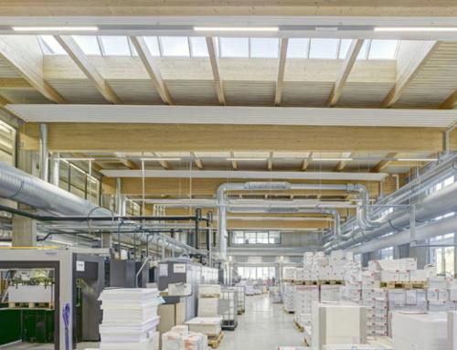 Sheddächer im Nu eingebaut-Druckerei Kromer Print AG