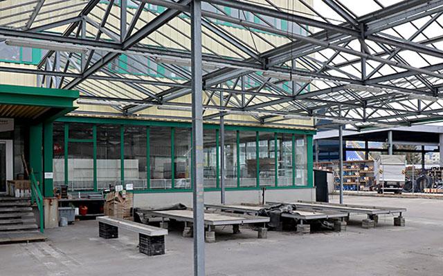 Neues Stadt-Gartencenter in Winterthur