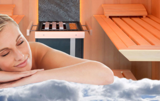 Sauna WOLKE 7 - das perfekte Saunamodell