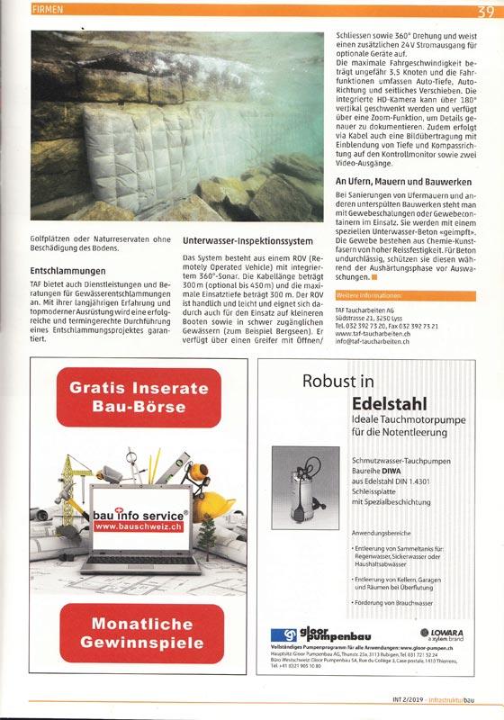 Magazin Infrastrukturbau