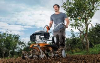 Grünschnitt häckseln und im eigenen Garten weiternutzen
