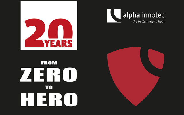 alpha innotec - 20 Jahre Technik, Design und Innovation