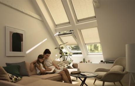 Automatischer Hitzeschutz unter dem Dach