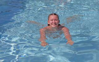 Für den täglichen Sprung ins frische Wasser