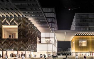 Mint Architecture entwickelt spektakuläre Fassade für Jelmoli im THE CIRCLE am Flughafen Zürich