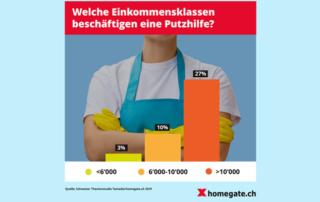 Putzhilfe: Fast jeder Achte putzt daheim nicht selber