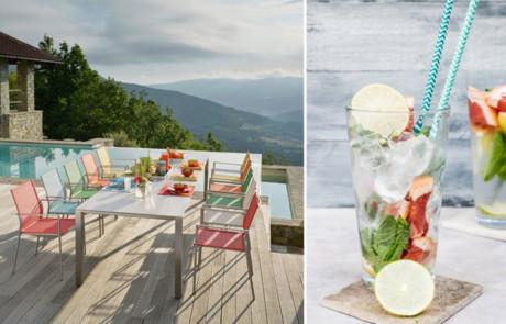 Sommerfest mit bequemen Gartenmöbeln & Gartenaccessoires