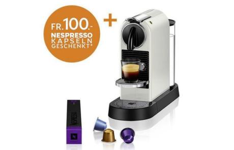 Gewinnspiel DeLonghi Nespressomaschine Citiz