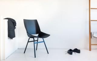 Designklassiker zum Wohlfühlen: Stuhl «Shell» umgibt mit Komfort