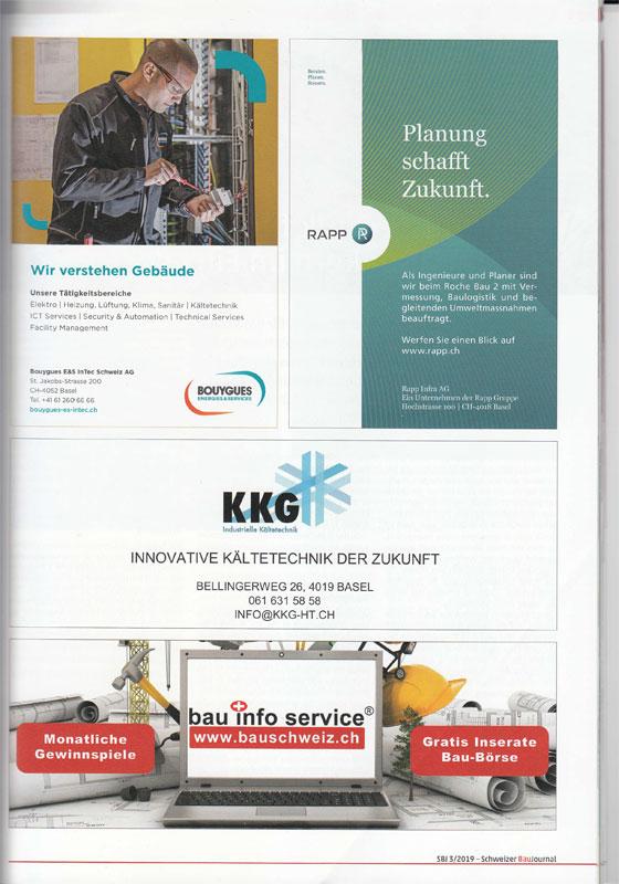 Magazin Schweizer BauJournal