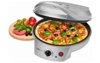 Gewinnspiel Clatronic Pizzaofen