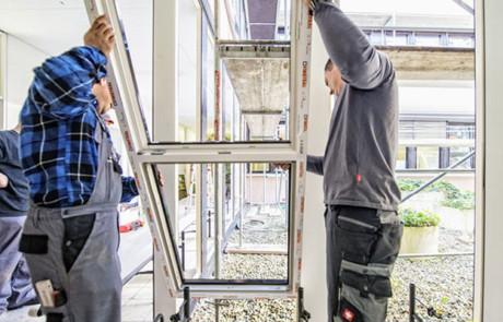 Hochwertige Fenster-Sanierung in 30 Minuten