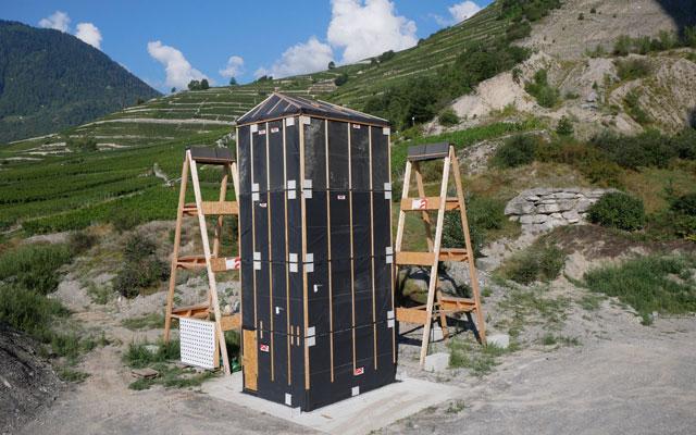 Vierstöckiger Holzbau beweist bei Zerstörungsversuch seine hohe Erdbebensicherheit