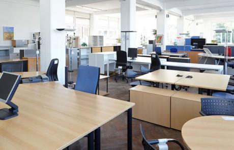 Büromöbel einfach mieten