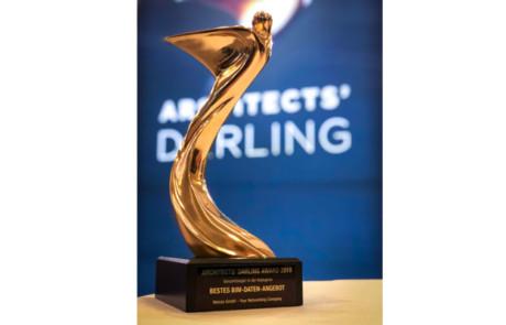 JANSEN AG gewinnt den Architects' Darling Award 2019