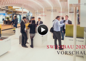 Sondersendung Swissbau 2020 Vorschau