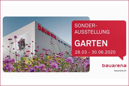 Bauarena Sonderausstellung Garten