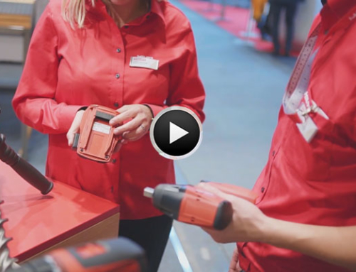 Swissbau 2020 Standinterview Hilti Schweiz